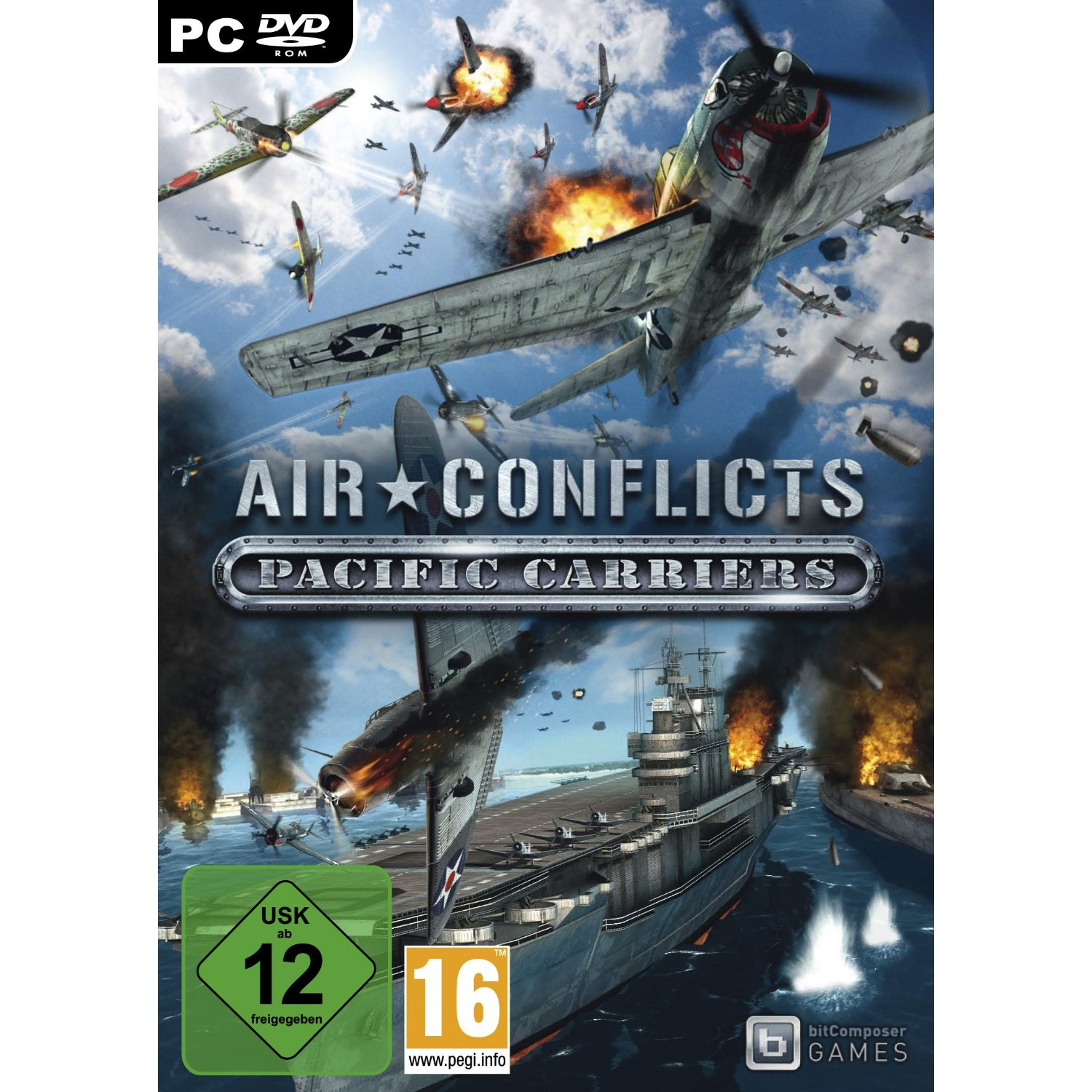 Air Conflicts: Pacific Carriers [PC][ENG]