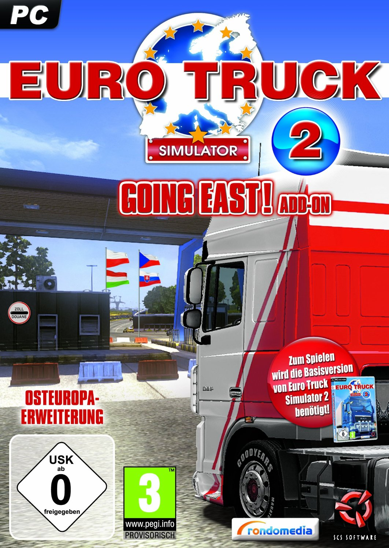 euro truck simulator 2 going east addon pc neu ovp 4032222441572 ebay. Black Bedroom Furniture Sets. Home Design Ideas