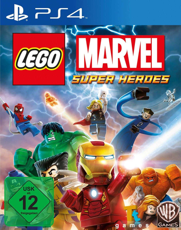 Lego Marvel Super Heroes PS4 Playstation 4 !!!! NEU+OVP