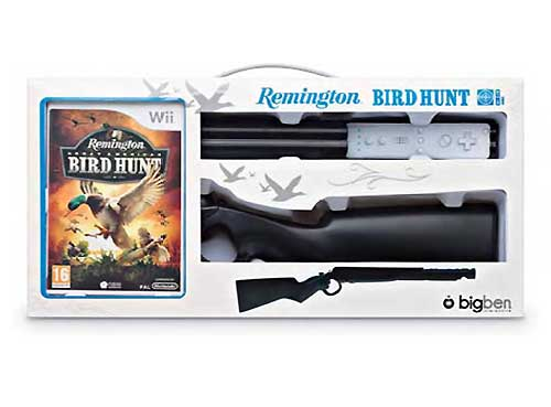 Remington-Great-American-Bird-Hunt-Bundle-Nintendo-Wii-NEU-OVP