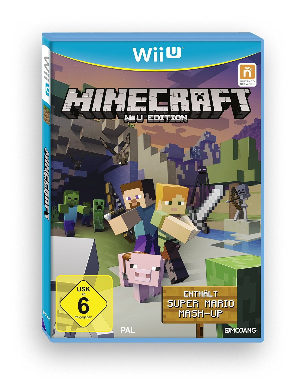 Minecraft Wii U-Edition inkl. Super Mario Mash-Up Nintendo Wii U ...