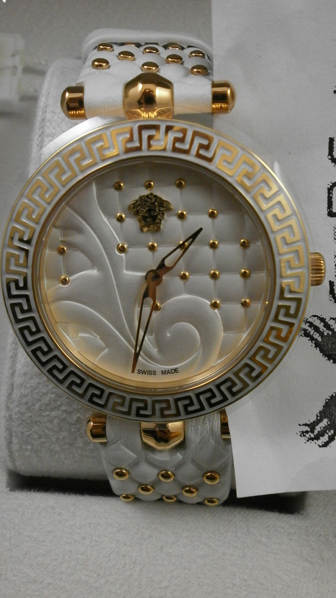 Vanitas Damenuhr Uhr Vk7510017 Versace Uhren 0P8wnOk